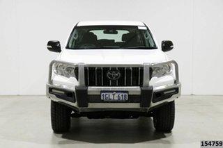 2018 Toyota Landcruiser GDJ150R MY17 Prado GX 7 Seat (4x4) White 6 Speed Automatic Wagon.