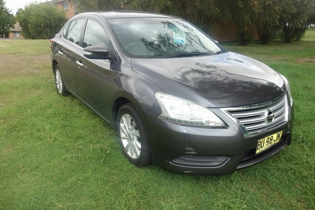 Used Nissan Pulsar B17 ST East Maitland, 2013 Nissan Pulsar B17 ST Grey 6 Speed Manual Sedan