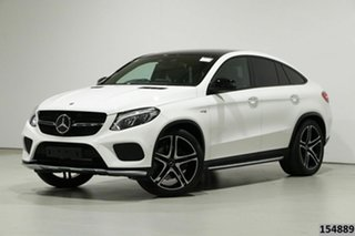 2017 Mercedes-Benz GLE-Class C292 MY808 GLE43 AMG Coupe 9G-Tronic 4MATIC 25469 9 Speed.