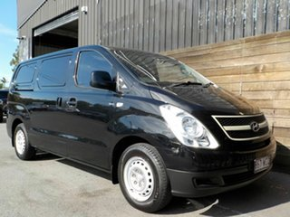 2010 Hyundai iLOAD TQ-V Black 5 Speed Manual Van.