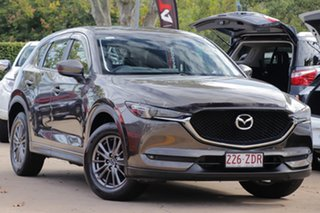 2018 Mazda CX-5 KF4WLA Touring SKYACTIV-Drive i-ACTIV AWD Bronze 6 Speed Sports Automatic Wagon.