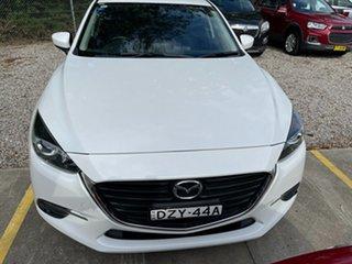 2016 Mazda 3 BM5478 Touring SKYACTIV-Drive White 6 Speed Sports Automatic Hatchback.