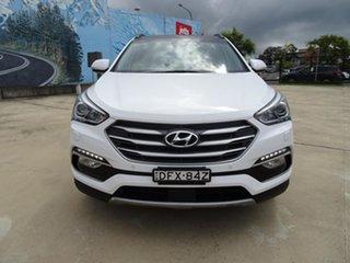 2015 Hyundai Santa Fe DM3 MY16 Highlander White 6 Speed Automatic Wagon