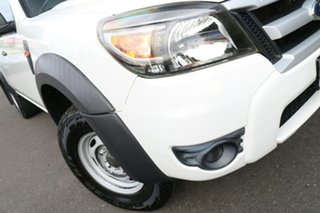 2009 Ford Ranger PJ XL Crew Cab 4x2 Hi-Rider Cool White 5 Speed Automatic Utility.