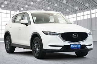 2019 Mazda CX-5 KF2W7A Maxx SKYACTIV-Drive FWD Sport White 6 Speed Sports Automatic Wagon.