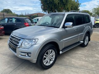 2019 Mitsubishi Pajero NX MY19 Exceed Silver 5 Speed Sports Automatic Wagon.