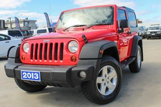 2013 Jeep Wrangler JK MY2013 Sport Red 6 Speed Manual Softtop.