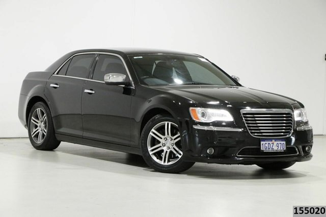 Used Chrysler 300 MY12 Limited Bentley, 2013 Chrysler 300 MY12 Limited Black 5 Speed Automatic Sedan