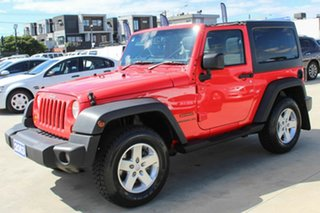 2013 Jeep Wrangler JK MY2013 Sport Red 6 Speed Manual Softtop