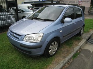 2005 Hyundai Getz TB Upgrade 1.4 Blue 4 Speed Automatic Hatchback.