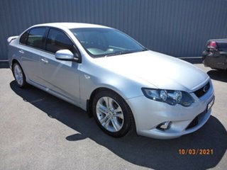 2011 Ford Falcon FG MK2 XR6 Silver Metallic 6 Speed Auto Seq Sportshift Sedan