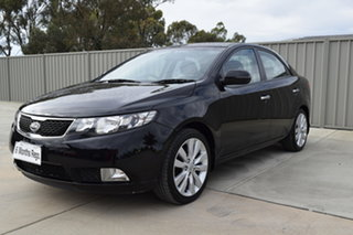 2011 Kia Cerato TD MY11 SLi Black 6 Speed Sports Automatic Sedan