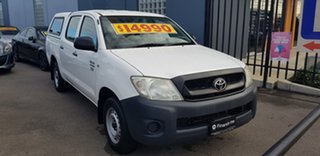 2010 Toyota Hilux TGN16R 09 Upgrade Workmate 4 Speed Automatic Dual Cab Pick-up.