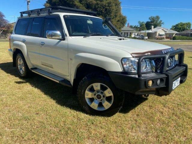 Used Nissan Patrol GU VIII ST (4x4) Wangaratta, 2013 Nissan Patrol GU VIII ST (4x4) White 4 Speed Automatic Wagon