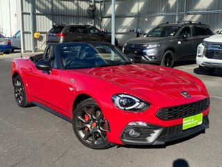 2018 Abarth 124 348 Series 1 Spider Red 6 Speed Manual Roadster.