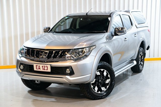 Used Mitsubishi Triton MQ MY18 Exceed Double Cab Hendra, 2018 Mitsubishi Triton MQ MY18 Exceed Double Cab Silver 5 Speed Sports Automatic Utility