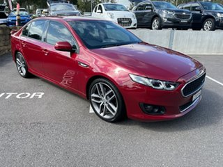 2015 Ford Falcon FG X XR6 Red 6 Speed Sports Automatic Sedan.