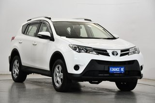 2015 Toyota RAV4 ASA44R MY14 GX AWD White 6 Speed Sports Automatic Wagon.