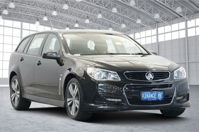 Used Holden Commodore VF MY14 SS Sportwagon Victoria Park, 2013 Holden Commodore VF MY14 SS Sportwagon Black 6 Speed Sports Automatic Wagon