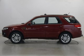 2013 Ford Territory SZ TS Seq Sport Shift Burgundy 6 Speed Sports Automatic Wagon.