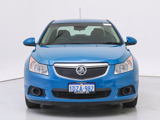 2012 Holden Cruze JH MY13 CD Blue 6 Speed Automatic Sedan.