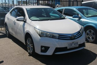 2014 Toyota Corolla ZRE172R SX S-CVT White 7 Speed Constant Variable Sedan.