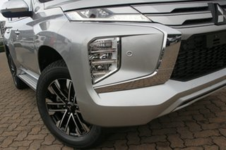 2021 Mitsubishi Pajero Sport QF MY21 Exceed Sterling Silver 8 Speed Sports Automatic Wagon.