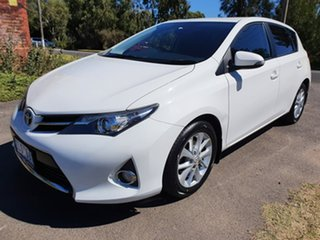 2012 Toyota Corolla ZRE182R Ascent Sport White 7 Speed Constant Variable Hatchback.