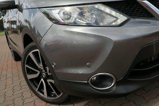 2016 Nissan Qashqai J11 TI Grey 1 Speed Constant Variable SUV.