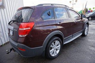 2014 Holden Captiva CG MY14 7 AWD LT Dark Burgundy 6 Speed Sports Automatic Wagon