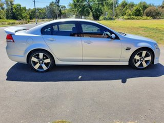2013 Holden Commodore VE Series II SV6 Z Series Silver Sports Automatic Sedan.
