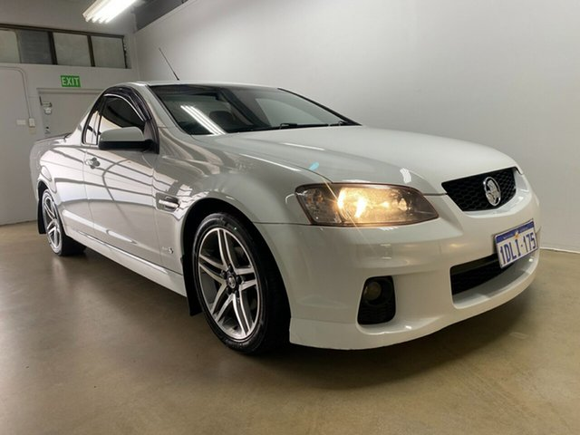 Used Holden Commodore VE II SV6 Phillip, 2010 Holden Commodore VE II SV6 White 6 Speed Automatic Utility