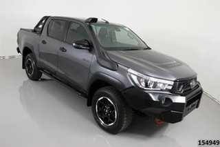 2020 Toyota Hilux GUN126R MY19 Upgrade Rugged X (4x4) Grey 6 Speed Automatic Double Cab Pick Up