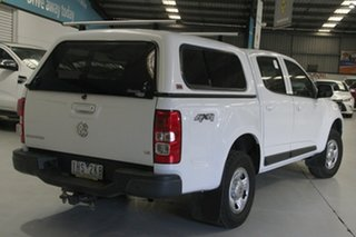 2016 Holden Colorado RG MY16 LS (4x4) Summit White 6 Speed Automatic Crew Cab Pickup.