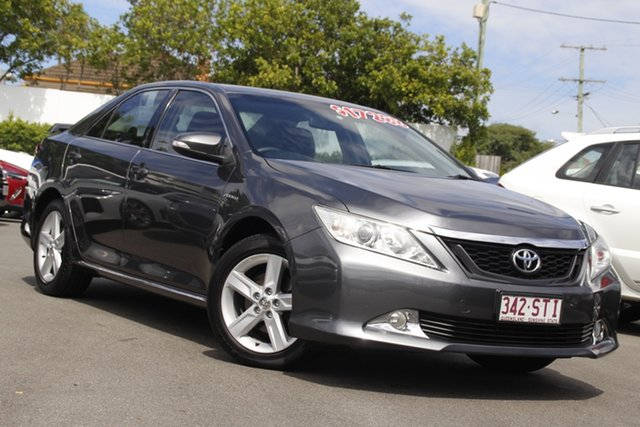 Used Toyota Aurion GSV50R AT-X Mount Gravatt, 2012 Toyota Aurion GSV50R AT-X Dark Grey 6 Speed Sports Automatic Sedan