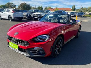 2018 Abarth 124 348 Series 1 Spider Red 6 Speed Manual Roadster