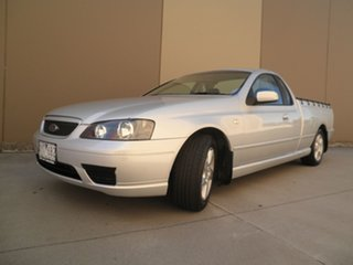 2006 Ford Falcon BF Mk II XLS Ute Super Cab Silver Frost 4 Speed Sports Automatic Utility.