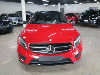 2015 Mercedes-Benz GLA-Class X156 806MY GLA250 DCT 4MATIC Red 7 Speed Sports Automatic Dual Clutch.