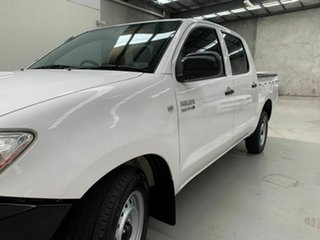 2011 Toyota Hilux KUN16R MY10 SR 4x2 White 5 Speed Manual Utility