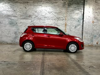 2016 Suzuki Swift FZ MY15 GL Red 4 Speed Automatic Hatchback
