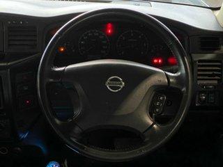 2004 Nissan Patrol GU IV MY05 ST Blue 4 Speed Automatic Wagon