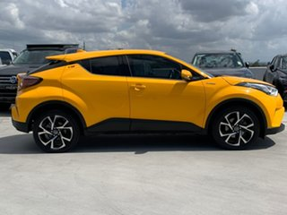 2017 Toyota C-HR NGX50R Koba S-CVT AWD Yellow 7 Speed Constant Variable Wagon.
