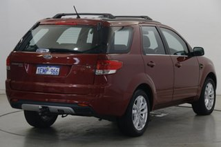 2013 Ford Territory SZ TS Seq Sport Shift Burgundy 6 Speed Sports Automatic Wagon