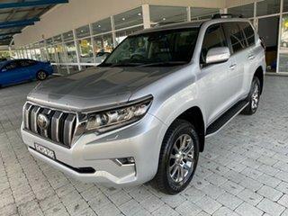 2019 Toyota Landcruiser Prado VX Silver Sports Automatic Wagon.
