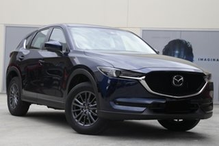 2021 Mazda CX-5 KF2W7A Maxx SKYACTIV-Drive FWD Sport Eternal Blue 6 Speed Sports Automatic Wagon.