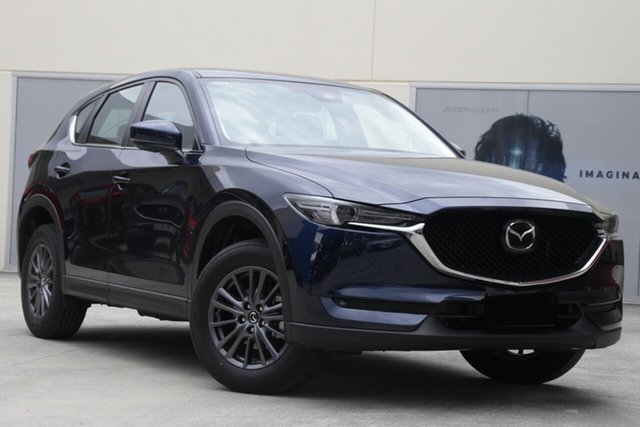 New Mazda CX-5 CX5K Maxx Sport (FWD) Kirrawee, 2021 Mazda CX-5 CX5K Maxx Sport (FWD) Eternal Blue 6 Speed Automatic Wagon
