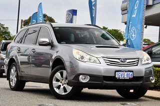 2010 Subaru Outback B5A MY10 2.0D AWD Steel Silver 6 Speed Manual Wagon.