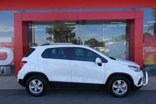 2018 Holden Trax TJ MY18 LS White 6 Speed Automatic Wagon.