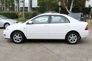 2007 Toyota Corolla ZZE122R MY06 Upgrade Conquest Glacier White 4 Speed Automatic Sedan