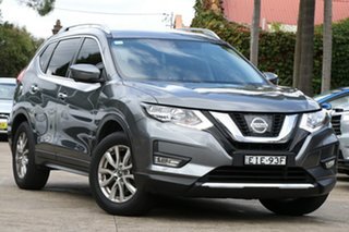 2017 Nissan X-Trail T32 ST-L (FWD) Grey Continuous Variable Wagon.
